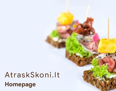 AtraskSkoni.lt - Responsive e-commerce web design