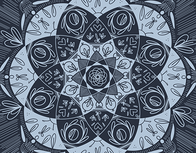 Floral Shaped Symmetry