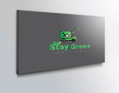 STAY GREEN LOGO DESIGN