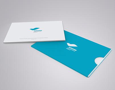 International airport booklet design