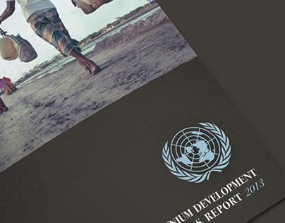 Visuals for the Millenium Development Goals Report 2013