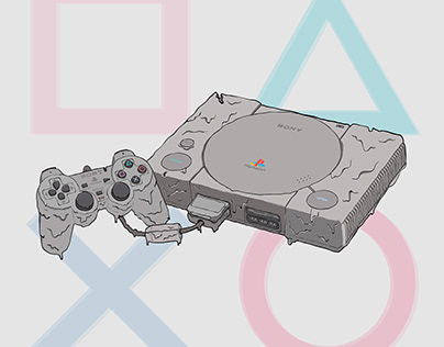 Melted Gaming Console