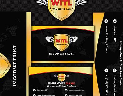 WITL business card design.