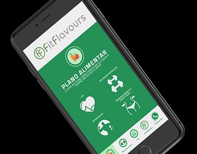 Aplicativo desenvolvido para FITFLAVOURS.