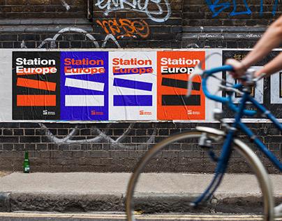 Station Europe Branding
