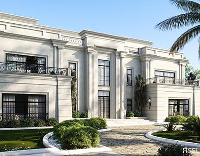 Palace Exterior & Landscape Design