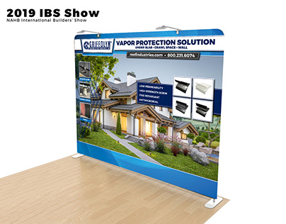 Trade Show Booth Vapor Protection Solution
