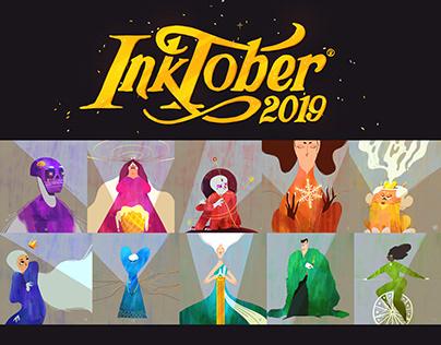 • INKTOBER 2019 • Colortober/Huetober/Palettetober