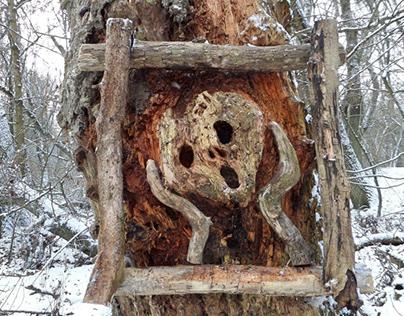 Driftwood art by tamas kanya