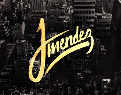 Jmendez - Logo for a Graphic Designer