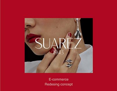 Redesign website - SUAREZ