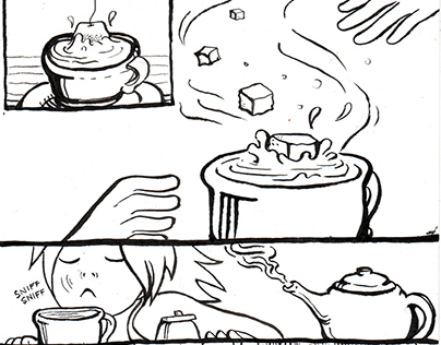 2 pages of 24 h comic