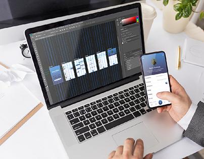 UX/UI Design of Mobile App (Social Network) - SparkMas