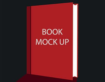 Book mock up design