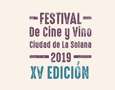 Propuesta cartel festival de cine y vino