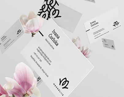 Magnolija Flower Shops Visual Identity