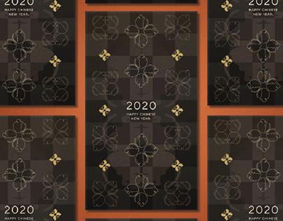LV inspired - CNY 2020 Custom Envelope design