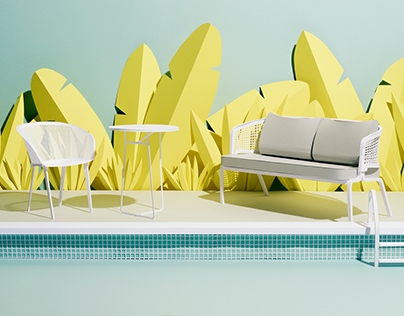 Paper Garden, Editorial for Architectural Digest
