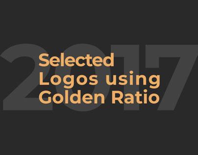 Selected Logos using Golden Ratio 2017