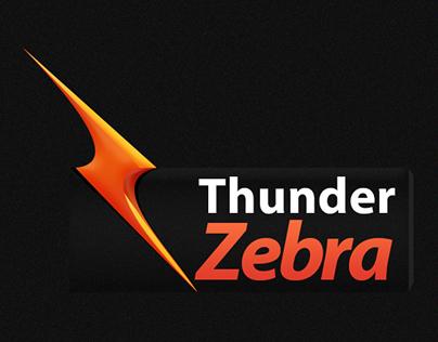 Logo Concept - Thunder Zebra