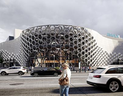 3d visualization / shopping center / Kazan city