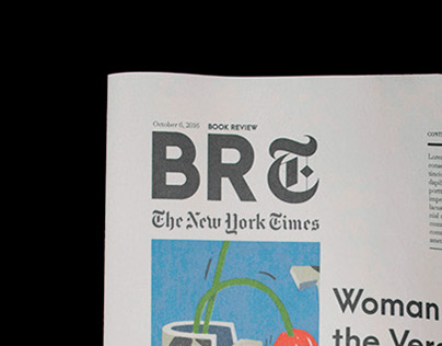 New York Times Book Review Re-Design