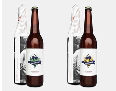 LA PIROGUE beer - Logo & Packaging