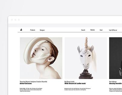 Concept Project Brand Butik