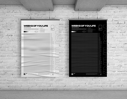 POSTER DESIGN #001   WEEKS OF YOUR LIFE