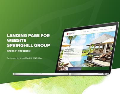 Springhill Group Website