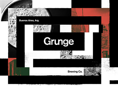 Grunge Brewing Co. Identity