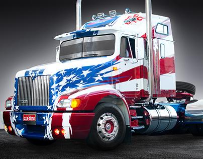 Restauração e Customização - Caminhão International