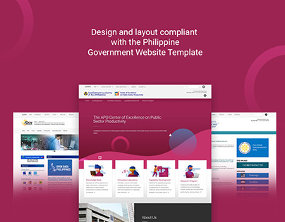 COE-PSP Website Design and Development