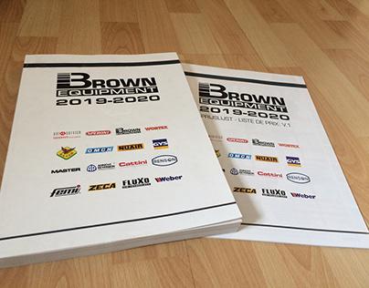 FP Brown 2019-2020 catalogue & pricelist