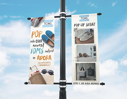 BANNERS: TOMS Pop-Up Store Opening