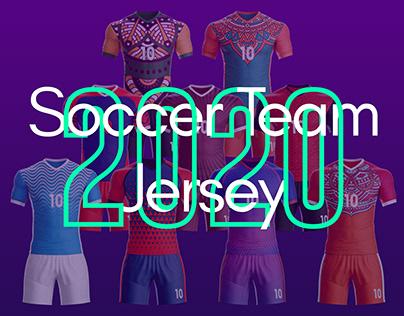Soccer Team Jersey 2020