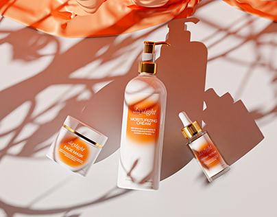 Daylight Skincare - Branding & Packaging