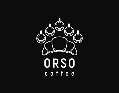 Logo design for a coffee and pastry shop