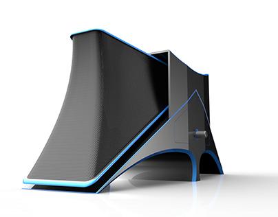 3D Modeling: Desktop Speaker