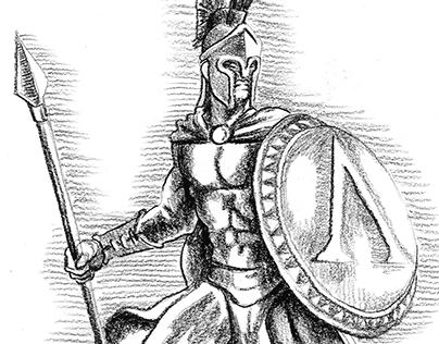 Illustration—Spartans