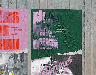 Hip Hop Legends - Posters serie