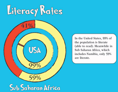 Infographic on Literacy