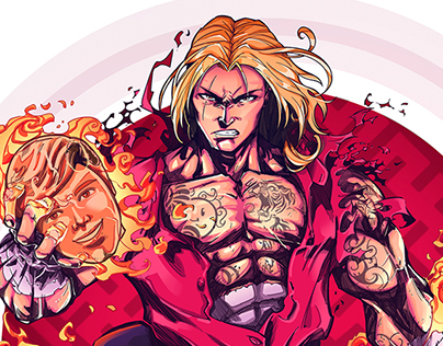 STREET FIGHTER - BEHANCE PERU PROJECT