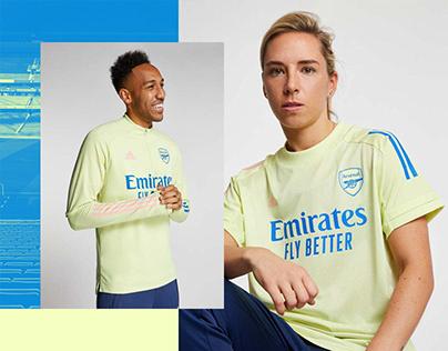 Arsenal 20/21 adidas Training Collection