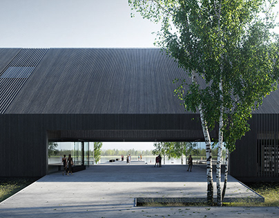 Norway's National Logging Museum | 1st prize
