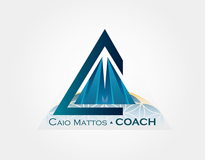 Caio Mattos Coach. Logotipo