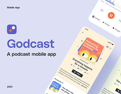 Godcast - A Podcast Mobile App