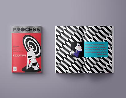 Process Magazine : Malika Favre