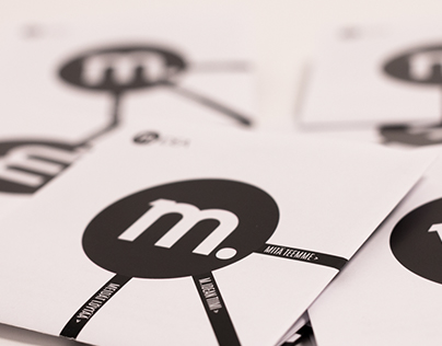M.IDEA co-op brochure and business card