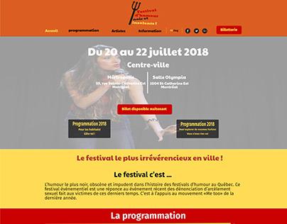 Festival d'humour noir